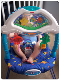Fisher Price Ocean Wonders Aquarium Bouncer