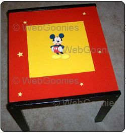 Disney Mickey Mouse Childrens Table