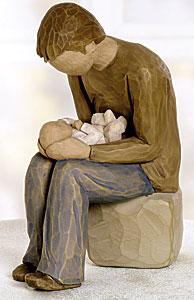 "Willow Tree By Demdaco ""New Dad"" Figurine"